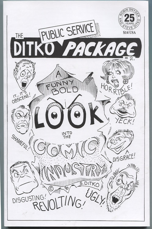 Ditko Public Service Package #2