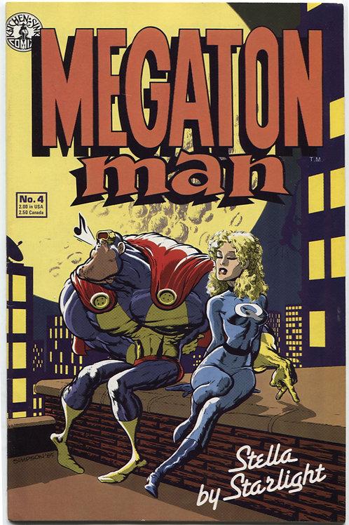 Megaton Man #4