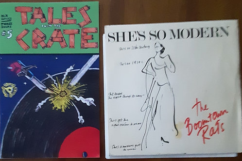"""Tales From The Crate #5 with Boomtown Rats She's So Modern  7"""" Record"""