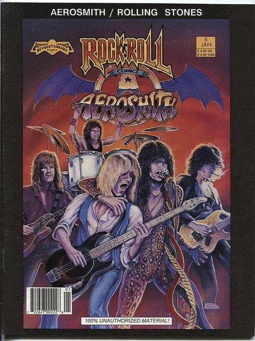 Rock N Roll Comics #5: Aerosmith & Rolling Stones