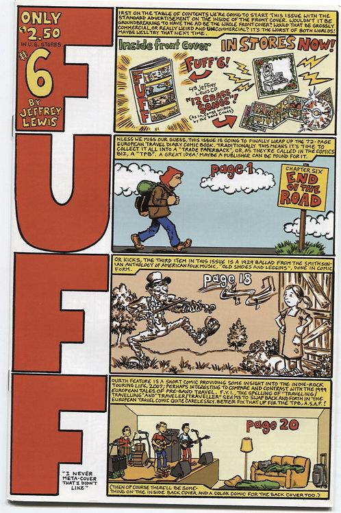 Jeffrey Lewis's Fuff #6