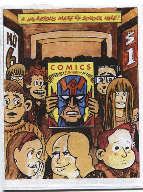 Bill Widener's Comics Funnies #6