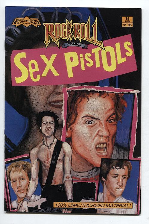 Rock 'n' Roll Comics #14 Sex Pistols
