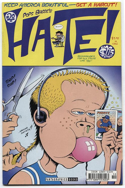 Peter Bagge's Hate #20