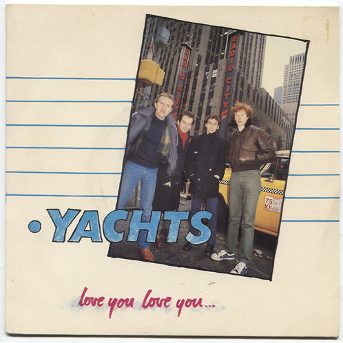 Yachts: Love You Love You 7""