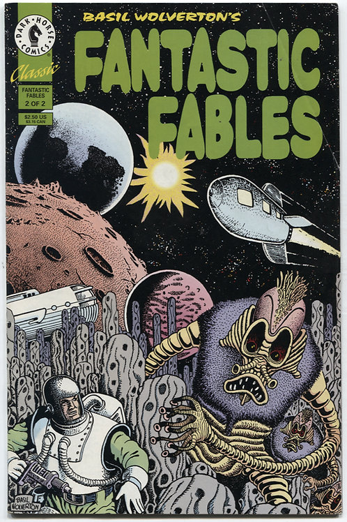 Basil Wolverton's Fantastic Fables #2