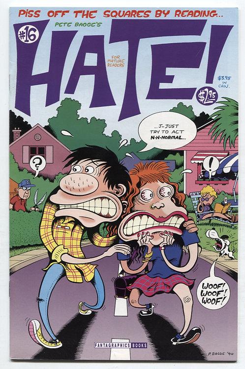 Peter Bagge's Hate #16