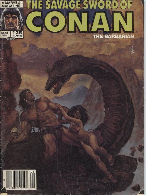 Savage Sword of Conan #125