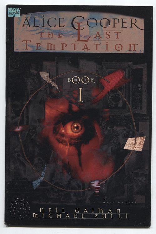 Last Temptation of Alice Cooper Book 1