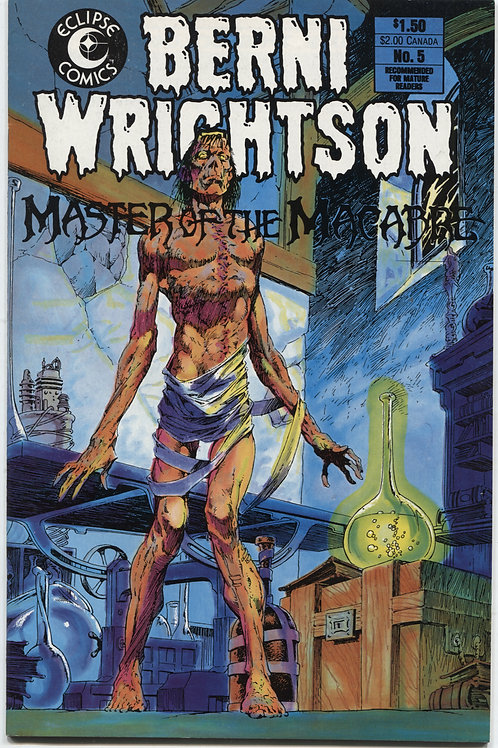 Combo: HTC #1 with Berni Wrightson Master of Macabre #5