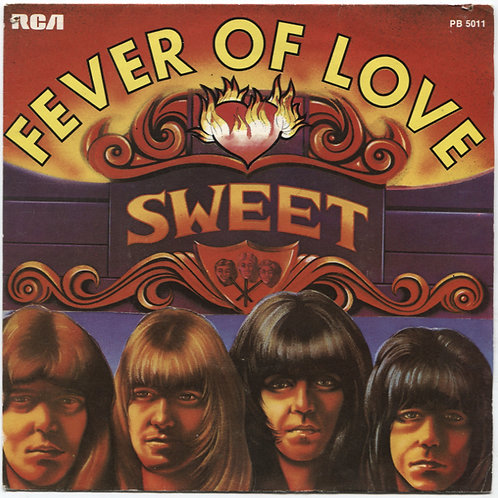 Sweet: Fever of Love 7""