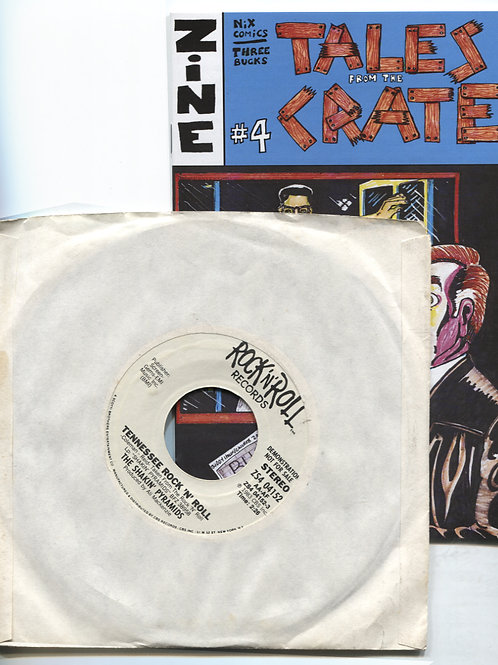 Tales From the Crate #4 with Shakin' Pyramids 7""