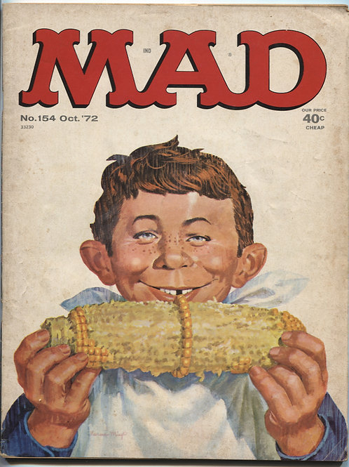 Mad Magazine #154