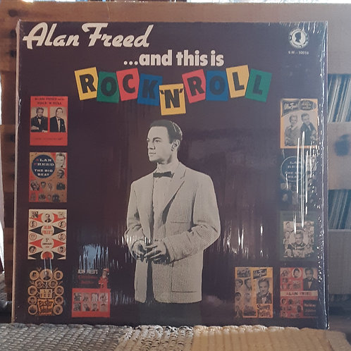 Alan Freed... and This Is Rock N Roll LP