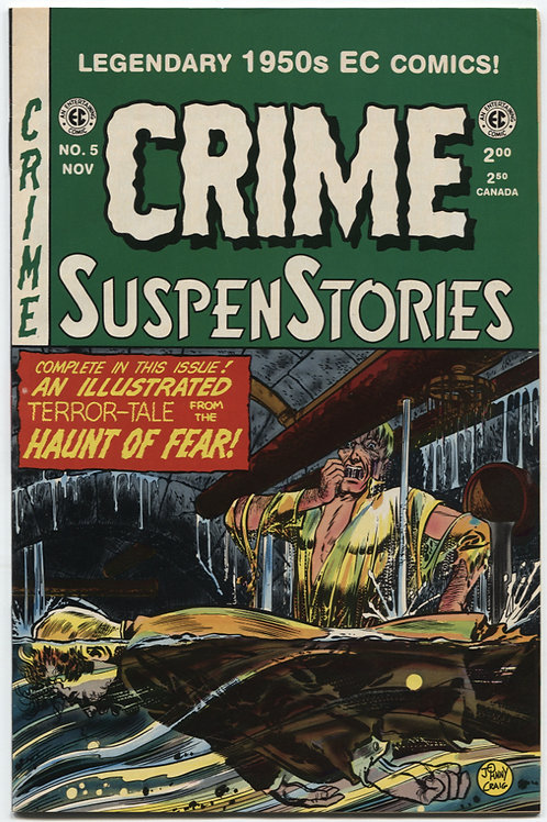 Crime Suspenstories #5