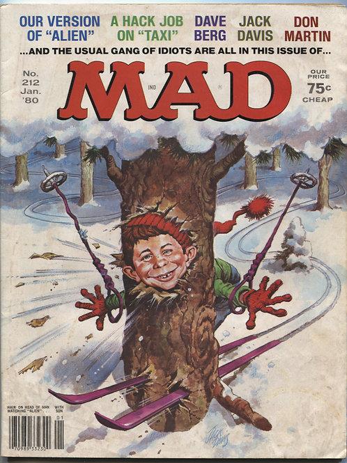Mad Magazine #212