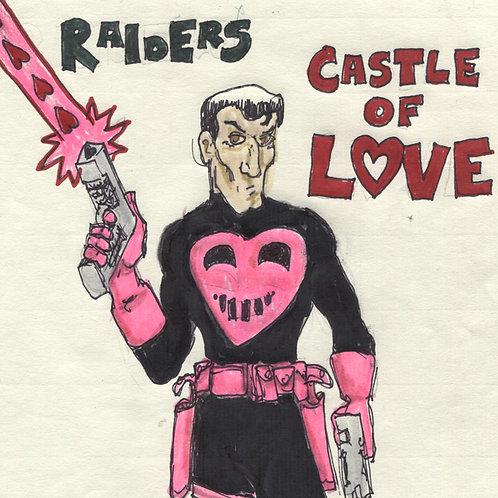 "Raiders Castle of Love 7"" Record with Original Art"
