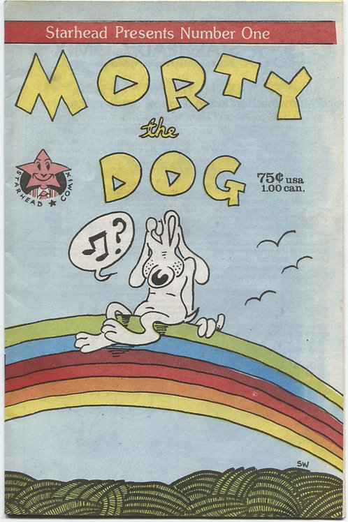 Starhead Comics Presents #1 Morty the Dog