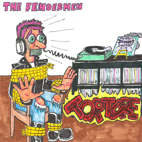 Fendermen: Torture Record with Print