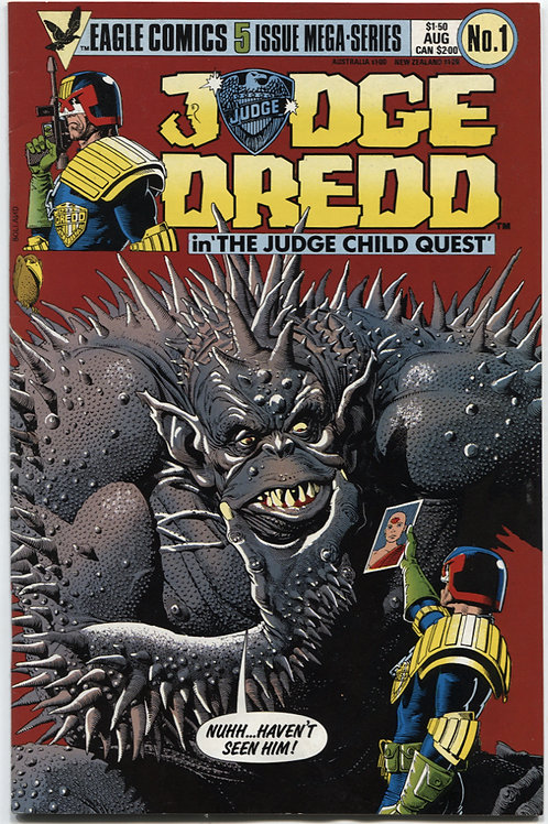 Judge Dredd in the Judge Child Quest #1