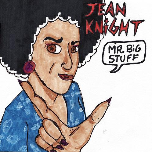 Jean Knight: Mr. Big Stuff Record with Print