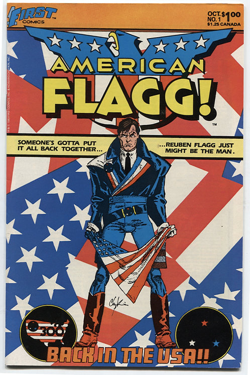American Flagg! Issues 1-3 Set