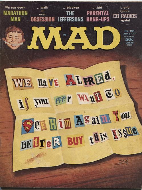 Mad Magazine #191