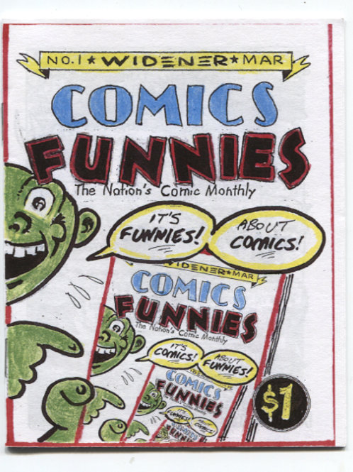 Bill Widener's Comics Funnies #1