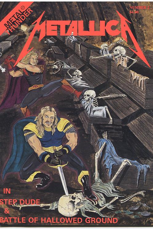 Metal Thunder Comics #2: Metallica