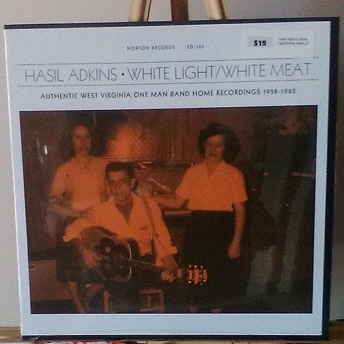 Hasil Adkins: White Light/White Meat LP