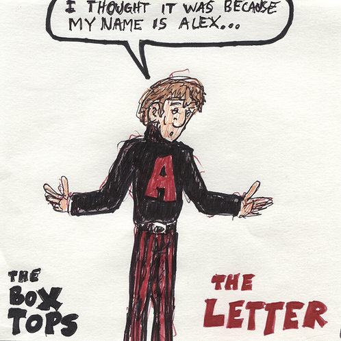 The Boxtops: The Letter Record with Original Art