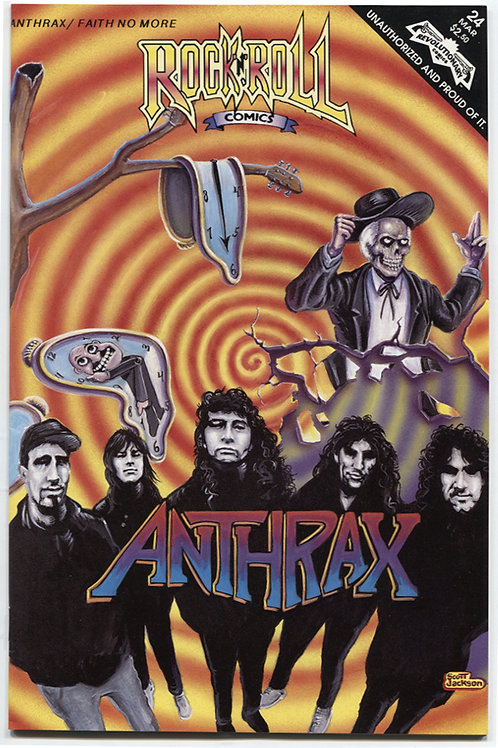 Rock 'N Roll Comics #24: Anthrax & Faith No More