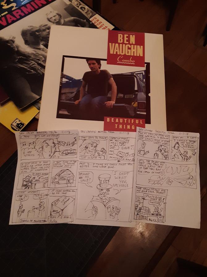 Record Comics #9: Ben Vaughn Combo Beautiful Things