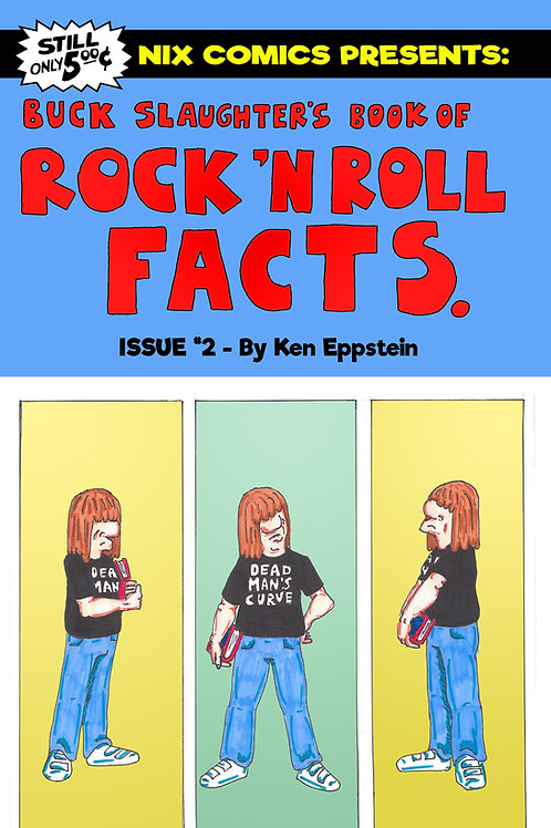 Buck Slaughter's Book of Rock 'N' Roll Facts #2