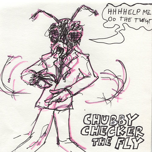 Chubby Checker: the Fly Record with Original Art