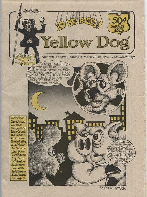 Yellow Dog #11-12