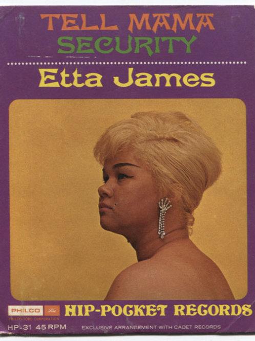 Etta James: Tell Mama Hip-Pocket Record