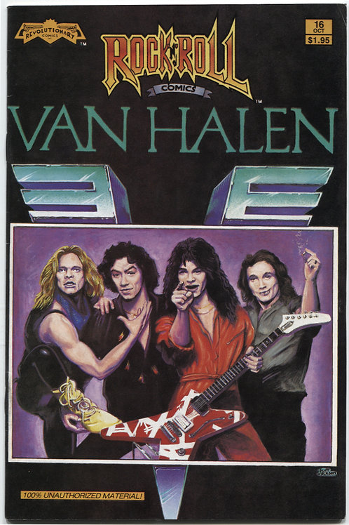 Rock 'N Roll Comics #16: Van Halen