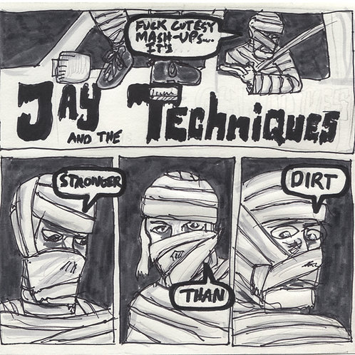 Jay & The Techniques Stronger Than Dirt Record with Original Art