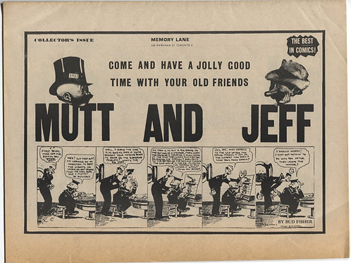 Comic World Presents: Mutt and Jeff