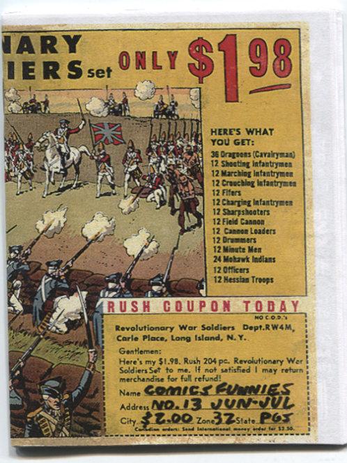 Bill Widener's Comics Funnies #13