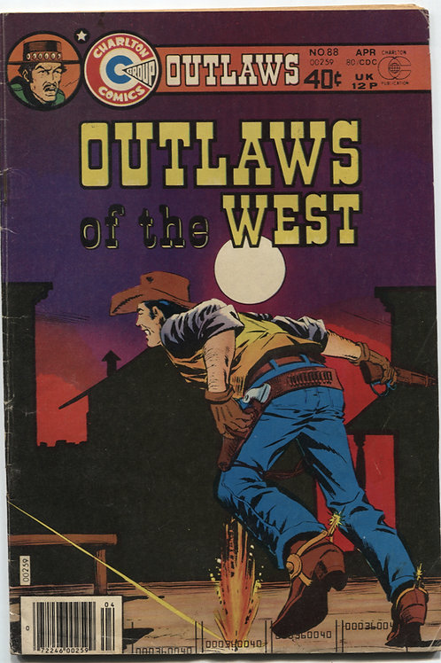 Outlaws of the West #88