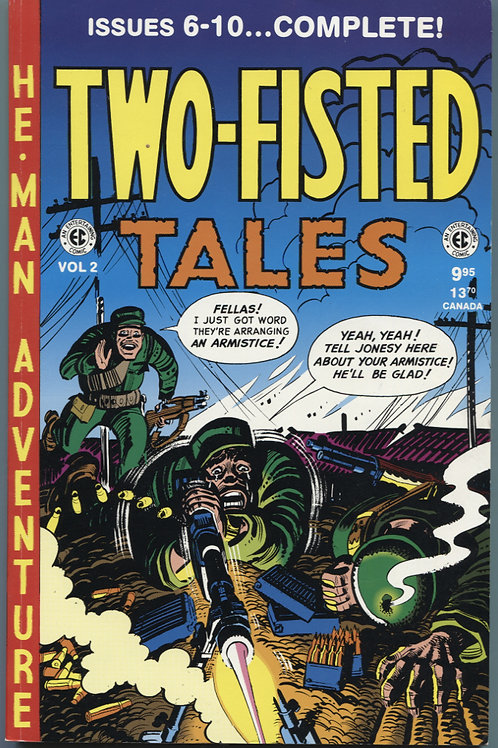 Two Fisted Tales Volume 2 (issues 6-10)