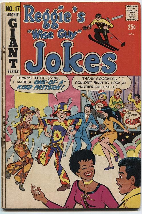 Reggie's Wise Guy Jokes #17