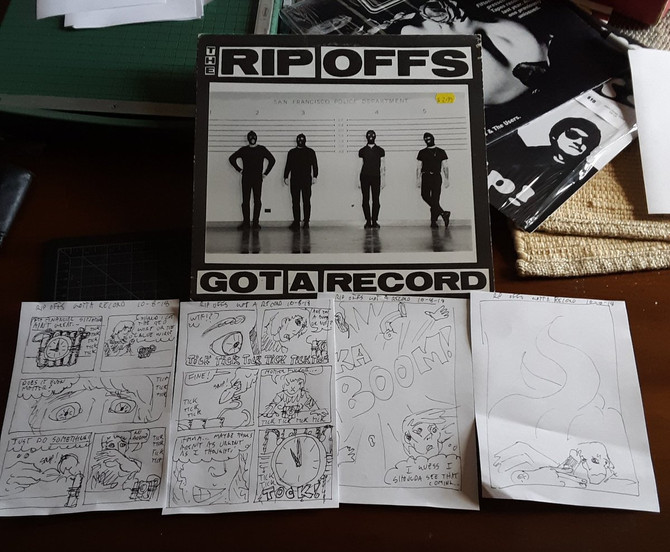 Record Comic #4: the Rip Offs Got a Record