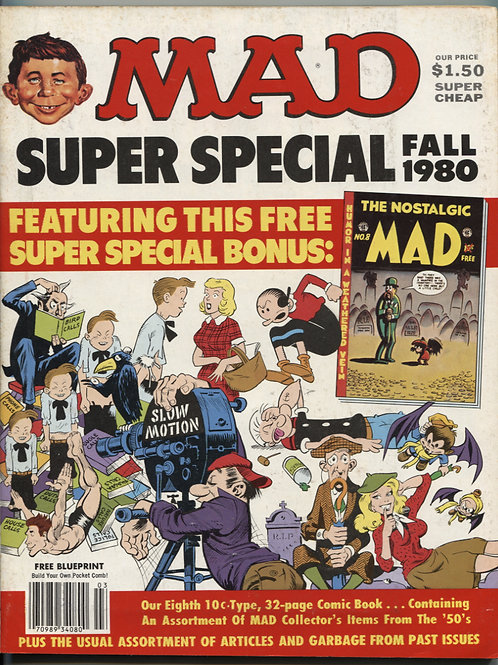 Mad Magazine Super Special Winter '80