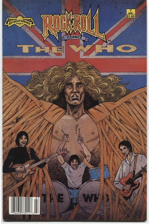 Rock 'N Roll Comics #7: The Who