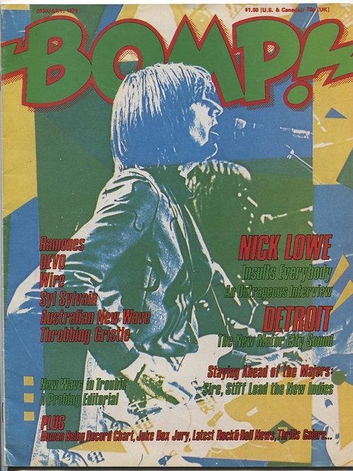 Bomp! Magazine January 1979