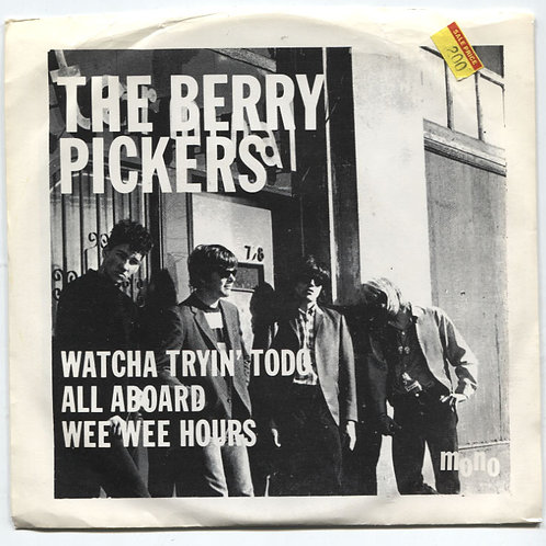 """Berry Pickers: Watcha Tryin To Do 7"""" EP"""