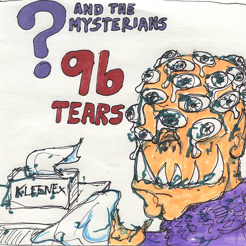 Question Mark and The Mysterians: 96 Tears Record with Original Art